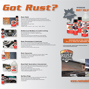 RUST SOLUTIONS AGS Rust Solutions Counter Mat