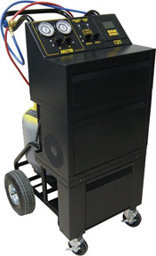 CPS Products Semi-Automatic Single Refrigerant Recovery/Recycle & Recharge with 50 lb. tank