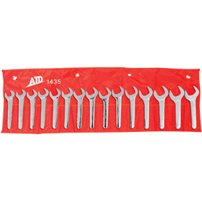 ATD Tools 15 Piece SAE Jumbo Service Wrench Set ATD-1435