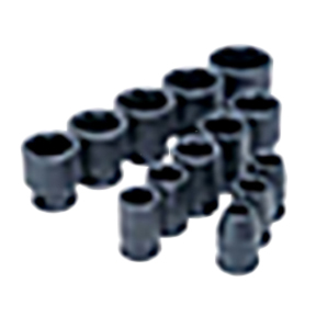 "ATD Tools 1/2""D 13PC 6-Point Standard Impact Socket Set ATD-4202"