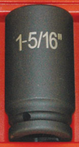 "ATD Tools 3/4"" Drive 1-5/16"" 6-Point Deep Fractional Impact Socket ATD-6442"