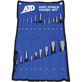 ATD Tools 20 pc. Punch & Chisel Set ATD-720