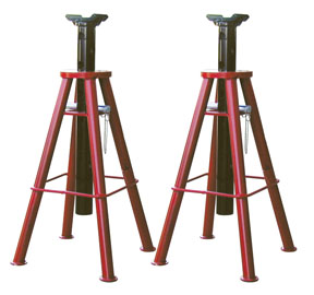 ATD Tools 7447 10-Ton Capacity High Lift Jack Stands P/N ATD-7447
