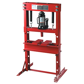 ATD Tools 12-Ton Hydraulic Bench Press with Bottle Jack ATD-7452