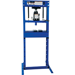 ATD Tools 20-Ton Hydraulic Shop Press with Bottle Jack ATD-7454
