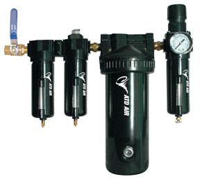 Air Dryer For Air Compressor >> Atd Tools Large Capacity Air Desiccant Air Drying System 1 2 Pipe