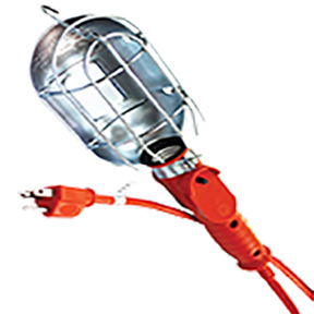 ATD Tools Heavy Duty Incandescent Utility Light With 25' Cord ATD-80075