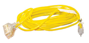 ATD Tools 25' 3-Wire Power Block Extension Cord ATD-8008