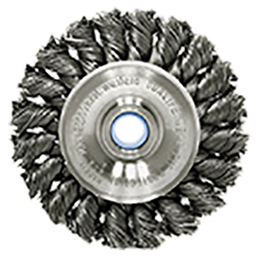 "ATD Tools 4"" Twisted Tuft Wire Wheel Brush ATD-8353"