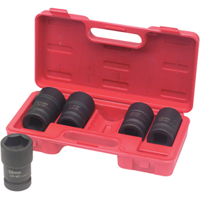 "ATD Tools 1"" Drive 5 pc. Budd Wheel Socket Set ATD-8624"