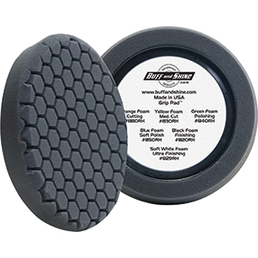 "Buff 'N Shine Center Ring 8"" Hex Foam Pad BFS-820RH"
