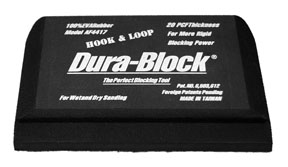 Dura-Block 1/3 Hook & Loop Block DRB-AF4417