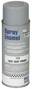 Finish Pro Automotive-Grade Spray Enamel, Light Gray Primer, 12 oz. FPR-110