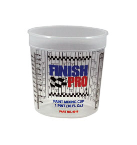 Finish Pro Mixing Cups, 16oz. FPR-9016