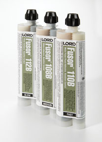 Lord Fusor 7.6oz Metal Patch Panel Adhesive Bondline Control (Fast-Set) FUS-110B