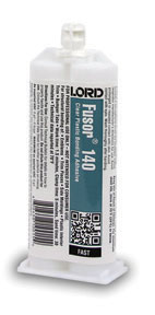 Lord Fusor Clear Plastic Structural Installation Adhesive (Fast-Set), 1.7 oz. FUS-140