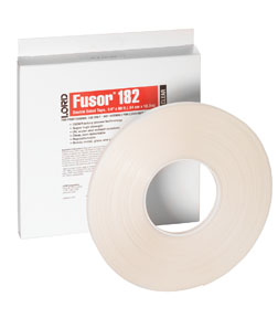 "Lord Fusor 1/4"" Clear Double-Sided Tape FUS-182"