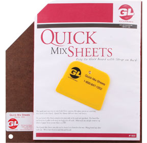 "GL Enterprises 12"" x 12"" 100 Disposable Sheets GLE-1800"