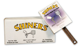 GL Enterprises Shiners™, Clearless Sprayout Cards GLE-2750