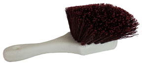 Hi-Tech Industries Short Handle Stiff Poly Fender Brush HIT-855