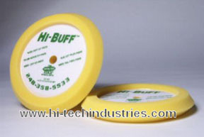 Hi-Tech Industries Hi-Buff™ Yellow Medium Cut Edge Foam Buffing Pad HIT-HB200