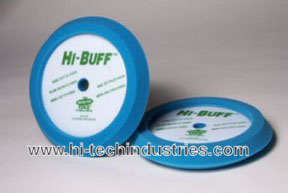 Hi-Tech Industries Hi-Buff™ Blue Soft Polish Edge Foam Buffing Pad HIT-HB400