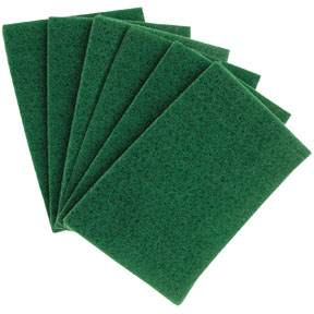 "Hi-Tech Industries Green Scuff Pad, 6"" x 9"" HIT-HT-6910"