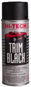 Hi-Tech Industries Trim Black Paint HIT-HT-810