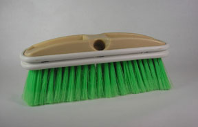 "Hi-Tech Industries 10"" Green Chem. Rst. Bristle HIT-TB-10CR"