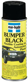 Mar-Hyde Aerosol Bumper Black MHD-4911