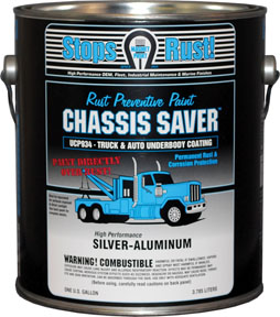 Magnet Paint Co Chassis Saver™ Silver Aluminum, 1 Gallon MPC-UCP934-01