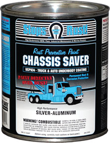 Magnet Paint Co Chassis Saver™ Silver Aluminum, 1 Quart MPC-UCP934-04