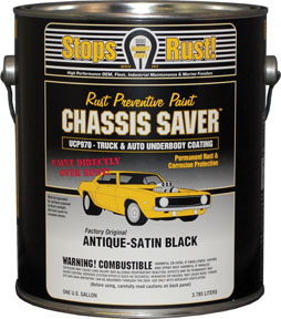 Magnet Paint Co Chassis Saver™ Antique Satin Black, 1 Gallon MPC-UCP970-01