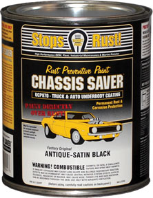Magnet Paint Co Chassis Saver™ Antique Satin Black, 1 Quart MPC-UCP970-04