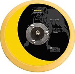 "Mirka Abrasives 6"" Vinyl-Faced Backing Pad MRK-106"