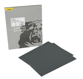"Mirka Abrasives 9""x11"" 21 Series Waterproof Sheets MRK-21-104-P1500"