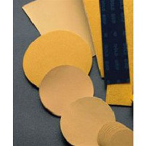 "Mirka Abrasives 2-3/4"" x 17-1/2"" 40-Grit 50/Box Gold Non-PSA File Sheets MRK-23-170-040"