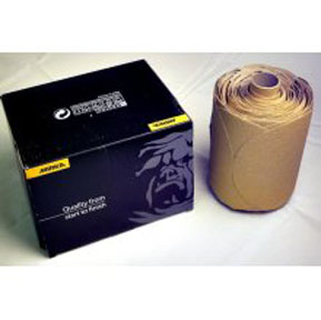 "Mirka Abrasives 5"" 80D Gold Disc, 100/Box MRK-23-314-080"