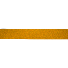 "Mirka Abrasives 2-3/4"" x 16-1/2"" P40-Grit 23 Series Gold PSA Sheet, E-Weight Backing MRK-23-364-040"