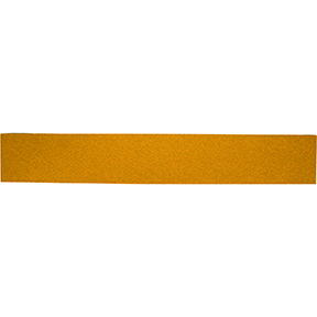 "Mirka Abrasives 2-3/4"" x 16-1/2"" 23 Series Gold PSA Sheet, E-Weight Backing MRK-23-364-080"