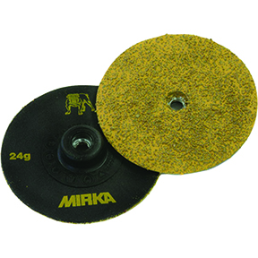 "Mirka Abrasives 3"" Gold Trim-Kut Disc P36 MRK-63-300-036"