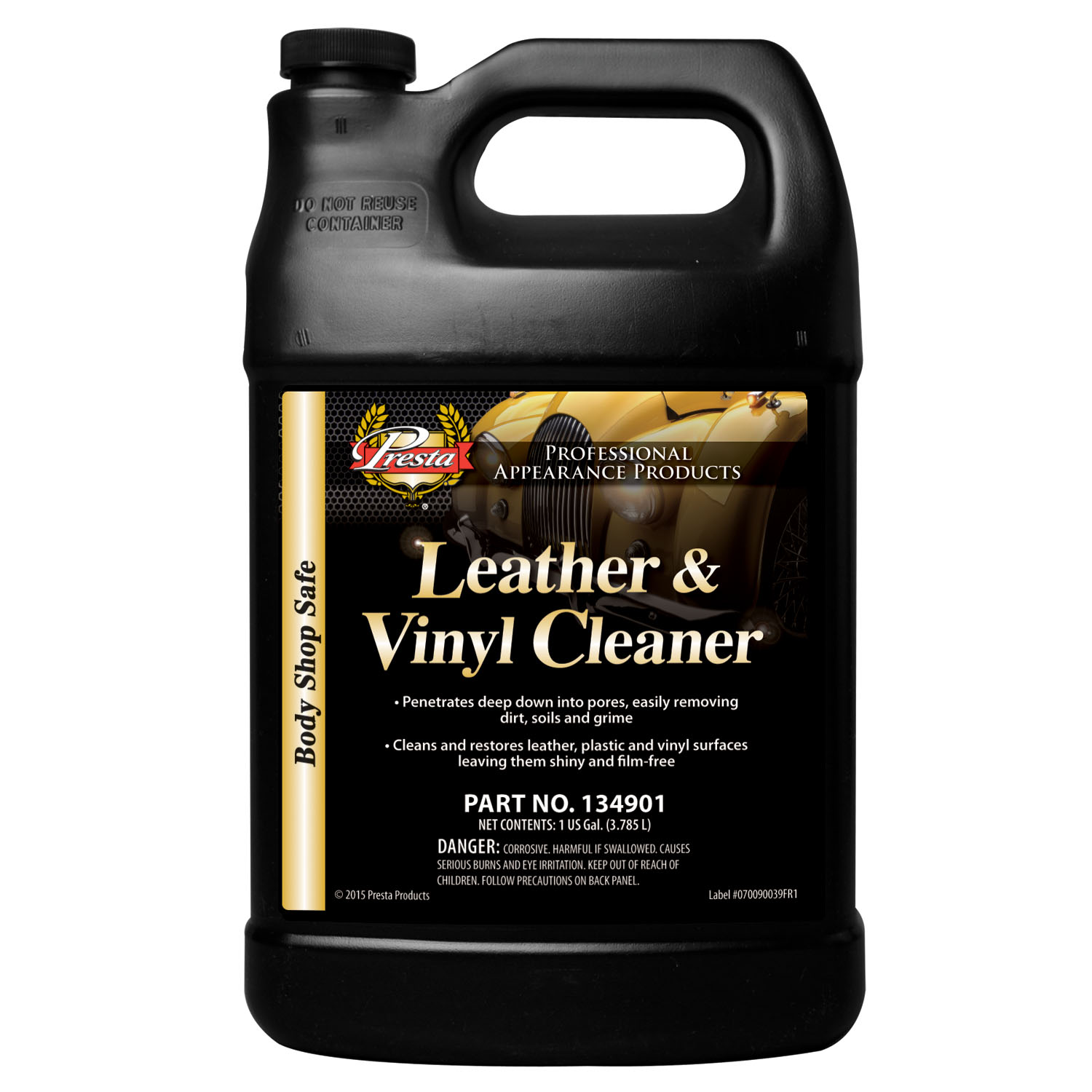 Presta Leather & Vinyl Cleaner, 1 Gallon PST-134901