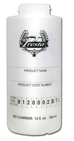 Presta 12 fl. oz. Ketchup Bottle PST-8120002BTL