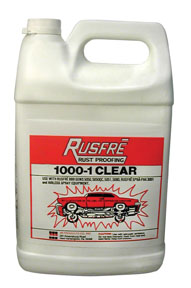 Rusfre 1 Gallon Clear Rust Proofing RUS-1000-6C