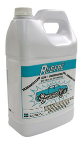 Rusfre 1-Gallon Automotive Spray-On Rubberized Undercoating Material RUS-1020F6