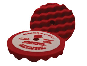 "Schlegel 8"" Winner's Circle Convoluted Foam Polishing Pad SCH-2011"