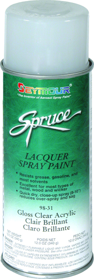 Seymore of Sycamore Gloss Clear Lacquer Aerosol SEY-98-31