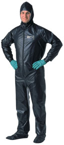 Shoot Suit Painter's Coveralls - Large, Black SHO-2002