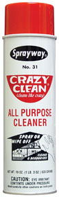 Sprayway Crazy Clean All Purpose Cleaner SPR-31
