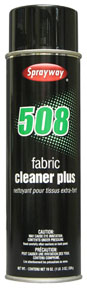 Sprayway Fabric Cleaner Plus SPR-508